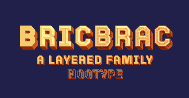 Bricbrac Super Family [8 Fonts] | The Fonts Master