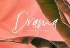 Drama [1 Font] | The Fonts Master