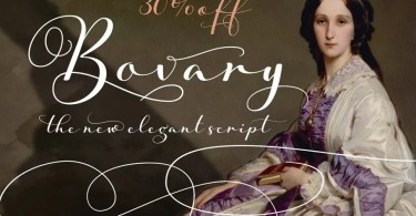 Bovary [1 Font] | The Fonts Master