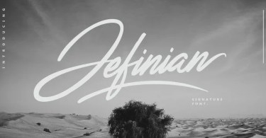 Jefinian Script [2 Fonts] | The Fonts Master