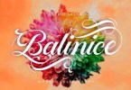 Balinice [1 Font] | The Fonts Master