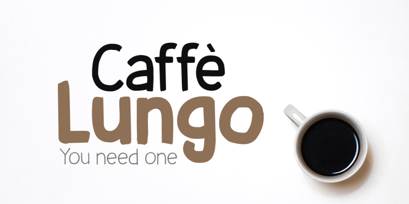 Caffe Lungo [6 Fonts]   The Fonts Master