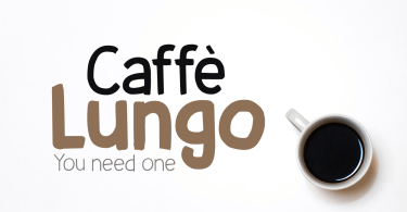 Caffe Lungo [6 Fonts] | The Fonts Master