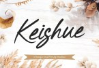 Keishue [1 Font] | The Fonts Master