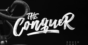 The Conquer [2 Fonts] | The Fonts Master