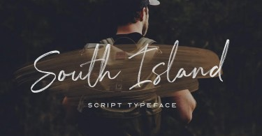 South Island [2 Fonts] | The Fonts Master