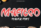 Mafieso [1 Font] | The Fonts Master