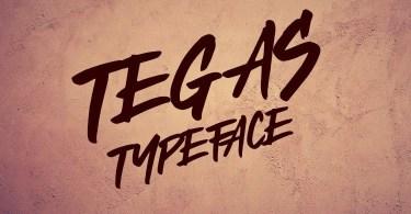 Tegas [1 Font] | The Fonts Master