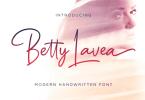 Betty Lavea [1 Font] | The Fonts Master