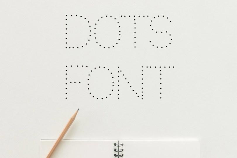 Dots [1 Font]   The Fonts Master