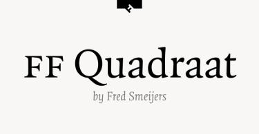 Ff Quadraat Super Family [13 Fonts]   The Fonts Master