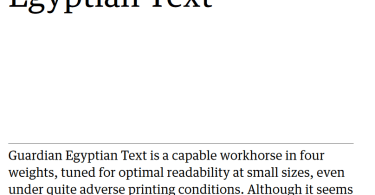 Guardian Egyptian Text Super Family [8 Fonts]   The Fonts Master