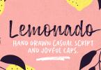 Lemonado [8 Fonts] | The Fonts Master
