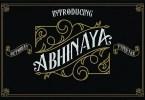 Abhinaya [2 Fonts] | The Fonts Master