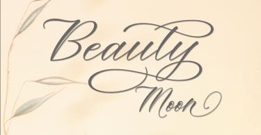 Beauty Moon [1 Font] | The Fonts Master