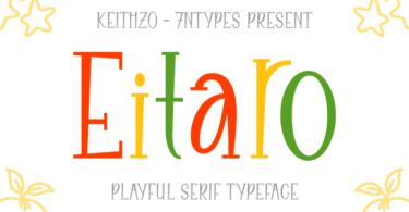 Eitaro [1 Font]   The Fonts Master