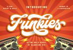 Funkies [1 Font] | The Fonts Master