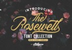 Rosewell Font Collection [7 Fonts] | The Fonts Master