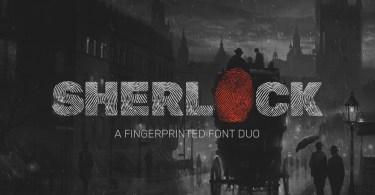 Sherlock [2 Fonts] | The Fonts Master