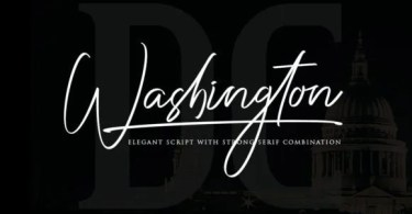 Washington Dc Duo [2 Fonts] | The Fonts Master