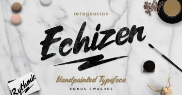 Echizen [2 Fonts] | The Fonts Master