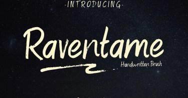 Raventame [2 Fonts] | The Fonts Master