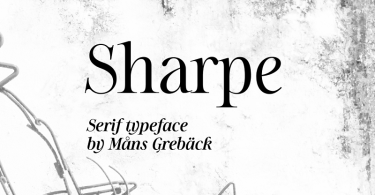 Sharpe [10 Fonts] | The Fonts Master