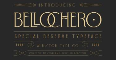 Wt Bellochero [1 Font] | The Fonts Master