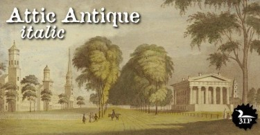 Attic Antique [2 Fonts] | The Fonts Master