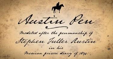 Austin Pen [2 Fonts] | The Fonts Master