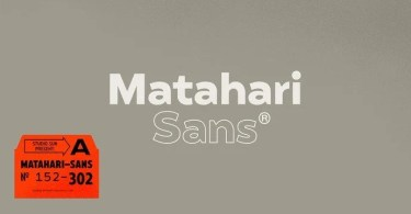 Matahari Sans Super Family [52 Fonts] | The Fonts Master