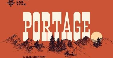 Blt Portage [1 Font] | The Fonts Master