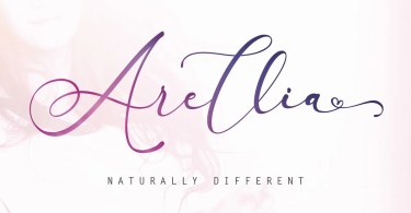 Arellia Script [1 Font] | The Fonts Master