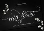 My Heart Script [1 Font] | The Fonts Master