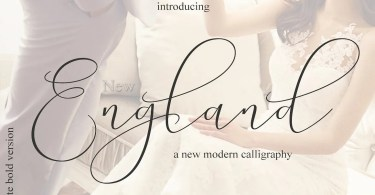 New England [4 Fonts] | The Fonts Master