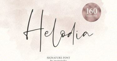 Helodia [1 Font] | The Fonts Master