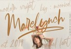 Marelynch Script [1 Font] | The Fonts Master