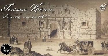 Texas Hero [1 Font] | The Fonts Master