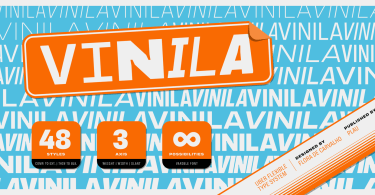 Vinila Super Family [48 Fonts] | The Fonts Master