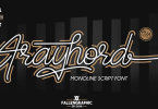 Frayhord [1 Font] | The Fonts Master