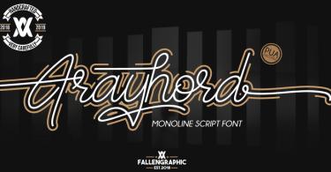 Frayhord [1 Font]