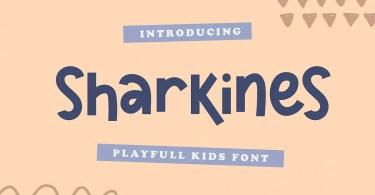 Sharkines [1 Font] | The Fonts Master