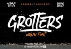 Grotters [2 Fonts[ | The Fonts Master
