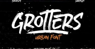 Grotters [2 Fonts[