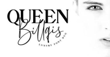 Queen Billqis [2 Fonts] | The Fonts Master