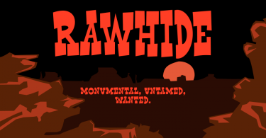 Rawhide [2 Fonts] | The Fonts Master