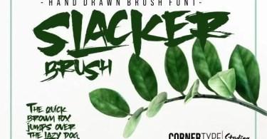 Slacker Brush [1 Font] | The Fonts Master