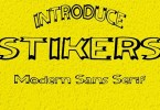 Stikers [3 Fonts] | The Fonts Master