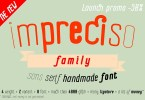 Impreciso [8 Fonts] | The Fonts Master