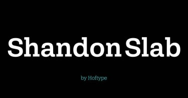 Shandon Slab Super Family [18 Fonts] | The Fonts Master